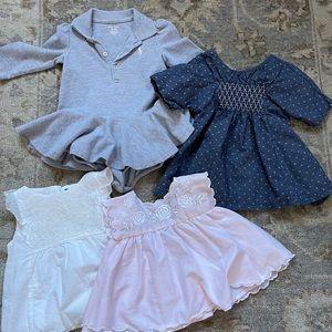 Baby girl dresses 0-6months